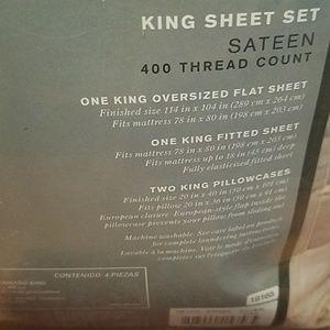 Pure Beech Bedding - NWT Pure Beech 100% Modal Sateen King Sheet Set